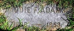 Addie F. Adams