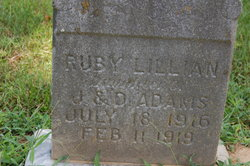 Ruby Lillian Adams