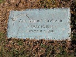 Ada <i>Norris</i> Hoover