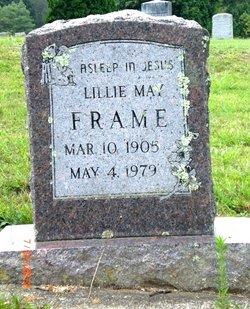 Lillie May <i>Vannatter</i> Frame