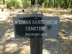 Weimar Sanatorium Cemetery