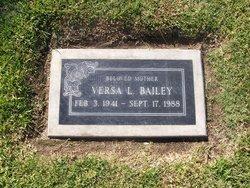 Versa Lee <i>Wolfe</i> Bailey