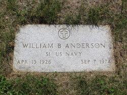 William B Bill Anderson