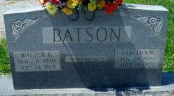 Walter G. Batson