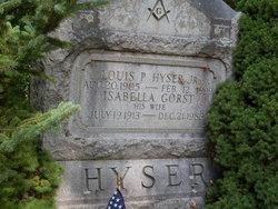 Isabella <i>Gorst</i> Hyser