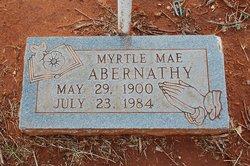 Myrtle Mae <i>Jones</i> Abernathy