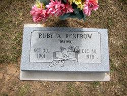 Ruby A. Me Me Renfrow
