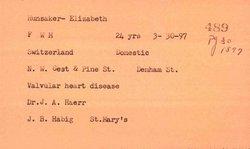 Elizabeth <i>Adler</i> Hunsaker