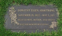 Dorothy Ellen Dottie <i>Partington</i> Armstrong