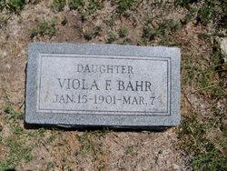 Viola F. Bahr
