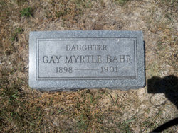 Gay Myrtle Bahr