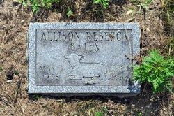 Allison Rebecca Bates