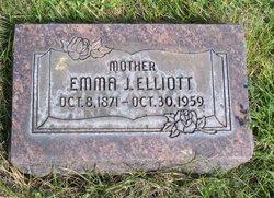 Emma J. <i>Elden</i> Elliott