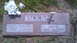 Asa Dow Strout