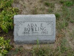 Ada Ellen <i>Harvey</i> Bowling
