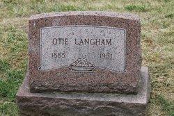 Otie Langham