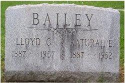 Katurah E <i>Flick</i> Bailey
