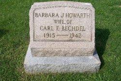Barbara J <i>Howarth</i> Bechdel