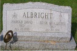 Edna <i>McAllister</i> Albright