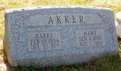 Mary <i>Wilkins</i> Akker