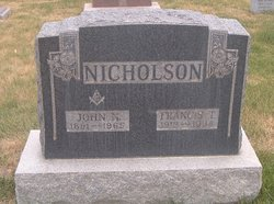 Frances T Nicholson