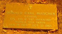Corp Donald Carl Buescher