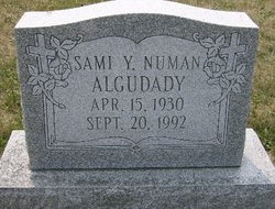 Sami Y <i>Numan</i> Algudady