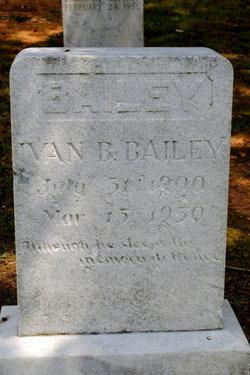 Ivan Brantley Bailey
