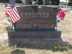 Dr William H. Kauffman