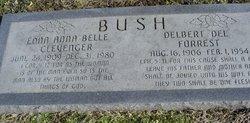 Edna Anna Belle <i>Clevenger</i> Bush
