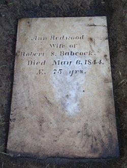 Ann Redwood <i>Thurston</i> Babcock
