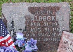 Justin R. Albecker