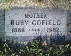 Ruby Mae <i>Cofield</i> Thayer