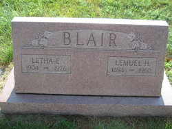 Letha Eleanor <i>Eaton</i> Blair