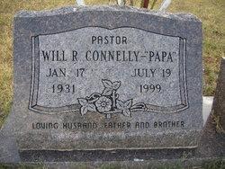 Rev Will R. Connelly, Sr