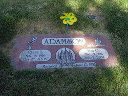 Clara <i>Larsen</i> Adamson