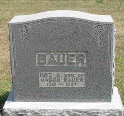 Inez A. <i>Styer</i> Bauer