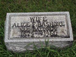 Alice F <i>Batdorff</i> Bashore