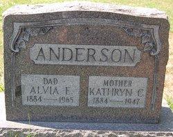 Alvia E. Anderson, Sr.