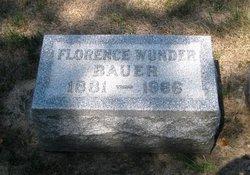 Florence Elizabeth <i>Wunder</i> Bauer