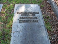 William Ernest Major Queener