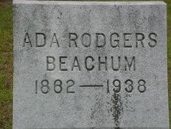 Ada <i>Rogers</i> Beachum