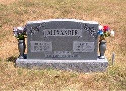 Helen Jean <i>McIntyre</i> Alexander