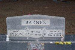 Mary Belle <i>Arnold</i> Barnes