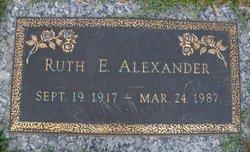 Ruth Elizabeth Alexander