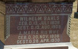 Wilhelm John Bahls