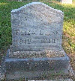Eliza <i>Canouts</i> Locke