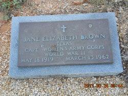 Jane Elizabeth Brown