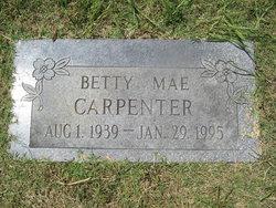 Betty Mae <i>Akers</i> Carpenter