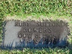 Ruby <i>Sutton</i> Bowers